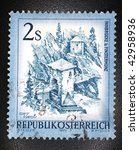 austria   1974  a stamp printed ... | Shutterstock . vector #42958936