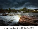 falls park   sioux falls south... | Shutterstock . vector #429624325