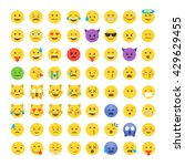 Emoticon Emoji Set. Emoticon...