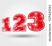 number crack vector illustration   Shutterstock .eps vector #429634261