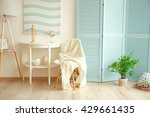 modern room design interior | Shutterstock . vector #429661435