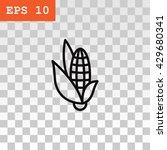 corn icon | Shutterstock .eps vector #429680341