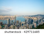 hong kong november 01   view of ... | Shutterstock . vector #429711685