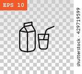 milk icon. milk icon vector....