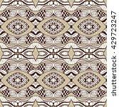 seamless vector ethnic pattern  ... | Shutterstock .eps vector #429723247