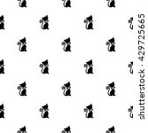 cute seamless pattern with cats   Shutterstock .eps vector #429725665