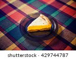 cheese cake slice | Shutterstock . vector #429744787