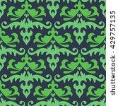 oriental vector seamless pattern   Shutterstock .eps vector #429757135