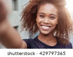 selfie in the city | Shutterstock . vector #429797365