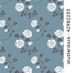 floral seamless | Shutterstock .eps vector #42982255