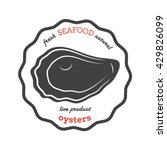vector oyster silhouette....