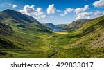 view from green crag... | Shutterstock . vector #429833017