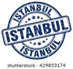 istanbul. stamp | Shutterstock .eps vector #429853174