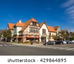 solvang is a city in santa... | Shutterstock . vector #429864895
