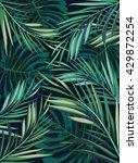 summer tropical hawaiian... | Shutterstock . vector #429872254