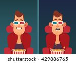 funny cartoon character. young... | Shutterstock .eps vector #429886765