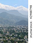 view of pokhara  nepal | Shutterstock . vector #42988798