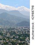 view of pokhara  nepal | Shutterstock . vector #42988798