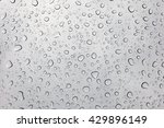 Raindrops On Glasses Surface....