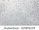 Photo Of Raindrops On Sunroof...