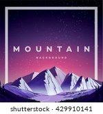 hipster wilderness typography... | Shutterstock .eps vector #429910141
