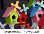 Colorful Bird House As...