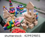 educational wooden toys.... | Shutterstock . vector #429929851