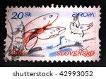 slovenia   circa 2004  a stamp... | Shutterstock . vector #42993052