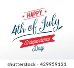 fourth of july  united stated... | Shutterstock .eps vector #429959131