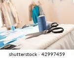 fashion designer studio with... | Shutterstock . vector #42997459
