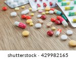medicine background concept the ... | Shutterstock . vector #429982165