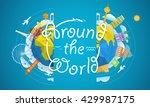 travel vector illustration.... | Shutterstock .eps vector #429987175