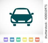 car vector icon | Shutterstock .eps vector #430010971