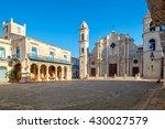 the cathedral of havana in cuba ... | Shutterstock . vector #430027579