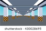 parking area vector | Shutterstock .eps vector #430028695