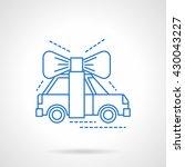 automobile surprise symbol....   Shutterstock .eps vector #430043227