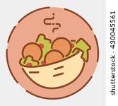 falafel icon. near east...   Shutterstock .eps vector #430045561