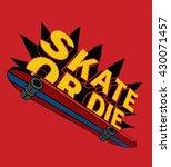 vector illustration of skating...   Shutterstock .eps vector #430071457
