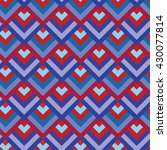 vector seamless pattern.... | Shutterstock .eps vector #430077814