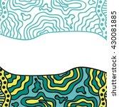 beautiful pattern background | Shutterstock .eps vector #430081885