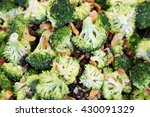 broccoli salad | Shutterstock . vector #430091329