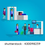 vector detailed characters... | Shutterstock .eps vector #430098259