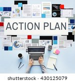 Small photo of Action Plan Process Strategy Vision Concept