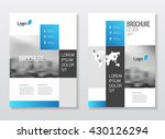 business presentation with map.  | Shutterstock .eps vector #430126294
