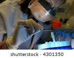 research phd  laboratory ... | Shutterstock . vector #4301350