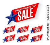 independence day sale discount... | Shutterstock .eps vector #430161115