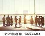 corporate business... | Shutterstock . vector #430182265