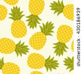 vector seamless pattern with... | Shutterstock .eps vector #430186939