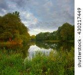 morning on the lake | Shutterstock . vector #430217449