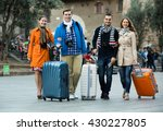 group of european friends with... | Shutterstock . vector #430227805
